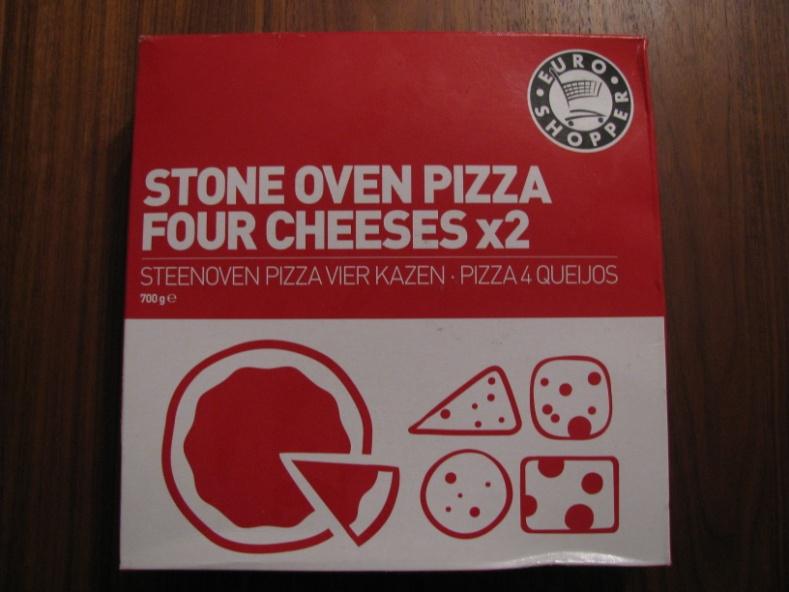 En toen was het eindelijk donderdag de dag dat ik pizza eet ik
